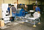 1992 - Anlieferung des Pruefstandes LPS 3000 LK bei DE VIER BV in Amsterdam
